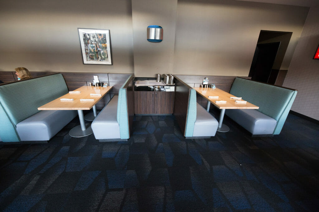 custom restaurant booths at talking stick